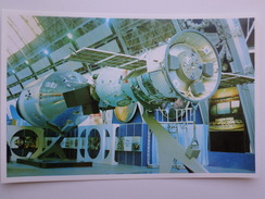 "Space Investigation - Spaceship  -. OLD  USSR PC - 1980s - ""Soyuz"" ""Apollo"" - Espace"