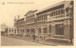 FRAMERIES : Ecole Communale Rue De La Victoire - Editeur : Gaston Liénard, Frameries - Frameries
