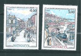 Monaco Timbres De 1984  Neufs** N°1433/34 - Ungebraucht
