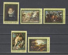 RUSSIE . YT 4376/4380 Neuf ** 400e Anniversaire De La Naissance De Pierre Paul Rubens 1977 - Unused Stamps