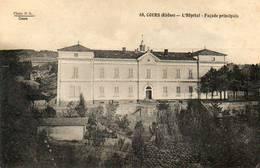 CPA - COURS (69) - Aspect De L'Hôpital Dans Les Années 20 - Cours-la-Ville