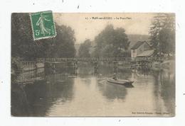 Cp , 10 , BAR SUR SEINE , Le PONT VERT , Voyagée 1911 - Bar-sur-Seine