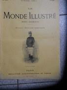 LE MONDE ILLUSTRE 14 Avril 1900 N° 2246  L'EXPOSITION DE 1900- GUERRE DU TRANSVAAL - 1900 - 1949