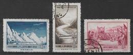 CHINE 1956 - Timbres N°1069 à N°1071 (3 Valeurs) - Oblitérés - 1949 - ... People's Republic