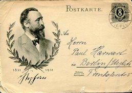 VR617   Entier Oblitérés EIFFEL 1931 - Allemagne