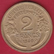 France 2 Francs Morlon - 1940 - France