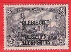 MiNr.14 (x) Falz Deutschland Deutsche Abstimmungsgebiete Allenstein - Duitsland