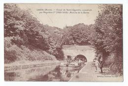 Lesdins - Canal De Saint-Quentin, Construit Par Napoléon Ier - Arrivée De La Rame - France