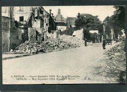 CPA - SENLIS - Guerre Septembre 1914 - Rue De La République, Animé - Guerre 1914-18