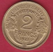 France 2 Francs Morlon - 1941 - France