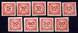 Österreich Porto Nr.93/101        **  Mint           (2517) - Portomarken