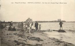 PENVINS EN SARZEAU - Un Coin De La Grande Plage à Marée Haute. - Autres Communes