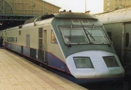 Diesel  Locomotive  Of Egypt National Railways (ENR)  In Alexandria Station 2002    -  CPM - Treinen