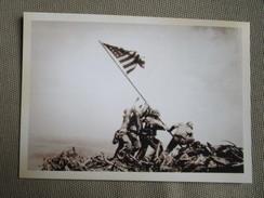 Raising The Flag On Iwo Jima - War 1939-45