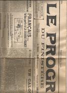 Journal ; Le Progrès Du Finistère - Giornali