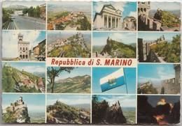 Repubblica Di S. Marino, Multi View, 1978 Used Postcard [19830] - San Marino
