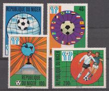 Niger 1978 Mi.nr.: 619-622 Fussballweltmeisterschaft In Argentinien  Neuf Sans Charniere / MNH / Postfris - Niger (1960-...)