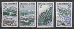 Niger 1967 Mi.nr.: 152-155 Olympia-Stadt Grenoble  Neuf Sans Charniere / MNH / Postfris - Niger (1960-...)