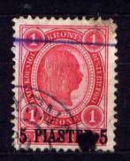 Österreich Post In Der Levante Nr.36        O  Used           (2619) - Levant Autrichien