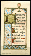 Souvenir  De Première Communion - 1912 - Images Religieuses