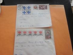 France   Ex-colonie Française Algérie -   2 Lettres & Document OMEC & Flamme Alger  Timbres De Collection - Algeria (1924-1962)