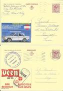 2 X PUBLIBEL  2314N + 2335F  DATSUN Bruxelles Et VEEN Biscotte - Stamped Stationery