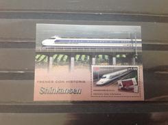 Cuba - Postfris / MNH - Sheet (Imperforated) Treinen 2016 - Ongebruikt