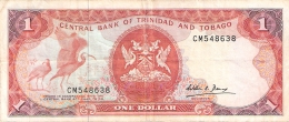 TRINITE & TOBAGO   1 Dollar   ND (1985)   Sign.5   P. 36b - Trinidad & Tobago