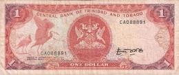 TRINITE & TOBAGO   1 Dollar   ND (1985)   Sign.4   P. 36a - Trinidad En Tobago