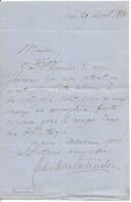 Autographe Montalenbert - Autographs