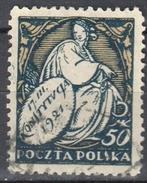Poland 1921 - Issued To Commemorate The Constitution - Mi. 170- Used - 1919-1939 Republik