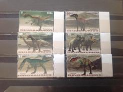 Cuba - Postfris / MNH - Complete Set Dinosaurussen 2016 - Ongebruikt