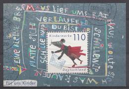 Allemagne 1999 Mi.Nr: Block 51 Für Uns Kinder  USED GEBRUIKT OBLITERE - [7] République Fédérale