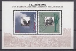 Allemagne 1995 Mi.Nr: Block 31 Jahrestag Der Beendigung Des Zweiten Weltkrieges  USED GEBRUIKT OBLITERE - Oblitérés