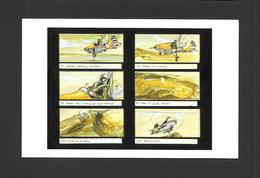 AFFICHES - POSTERS - CINÉMA - JAMES BOND AGENT 007 - STORYBOARD FEATURING FLYING NELLIE  FOR YOU ONLY LIVE TWICE (1967) - Affiches Sur Carte