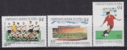 Equatorial Guinea -  Guinea Ecuatorial - Guinée Équatoriale 1994 Edifil 186- 88, World Football Championship - MNH - Äquatorial-Guinea