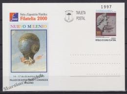 Equatorial Guinea - Guinée Équatoriale 2000, Postal Stationery No. 8, Filatelia 2000, Philatelic Exhibition - MNH - Guinea Ecuatorial