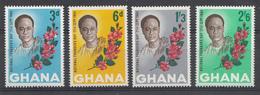 Ghana 1964 Mi.nr: 181-184 Tag Des Gründers....  Neuf Sans Charniere /MNH / Postfris - Ghana (1957-...)