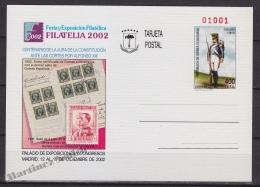 Equatorial Guinea - Guinée Équatoriale 2002, Postal Stationery No. 10, Military Suits- Philatelic Exhibition - MNH - Guinea Ecuatorial