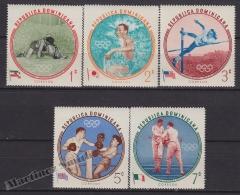Dominican Republic 1960 Yvert 542-56, Rome Olympic Games, MNH - República Dominicana