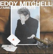CD EDYY MITCHELL ** J'AIME LES INTERDITS - Musique & Instruments
