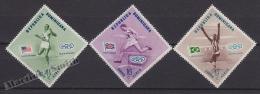 Dominican Republic 1957 Yvert A108-10, Melbourne Olympic Games - MNH - República Dominicana