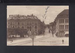 Schweiz AK Fribourg Rue De Romont 1917 - FR Freiburg