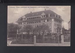 Schweiz AK Fribourg Ecole Superieure De Commerce 1923 - FR Fribourg