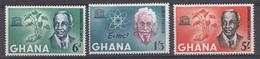 Ghana 1964 Mi.nr: 195-197 UNESCO-Woche  Neuf Sans Charniere /MNH / Postfris - Ghana (1957-...)