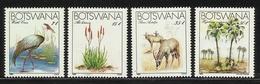 BOTSWANA  1983  ENDANGERED SPECIES  SET  MNH - Francobolli