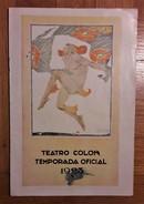 Teatro Colon Temporada Oficial 1923. - Magazines & Newspapers
