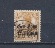 Duitse Rijk/German Empire/Empire Allemand/Deutsche Reich GeneralGouvernement 1916 Mi: 11 Yt:  (Gebr/used/obl/o)(1700) - Occupation 1914-18