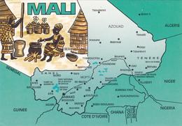 CPM - Carte Géographique - Mali - Maps