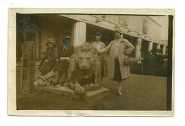 LIEGE CARTE PHOTO EXPOSITION INTERNATIONALE DE 1930 LION BELGIQUE - Liege